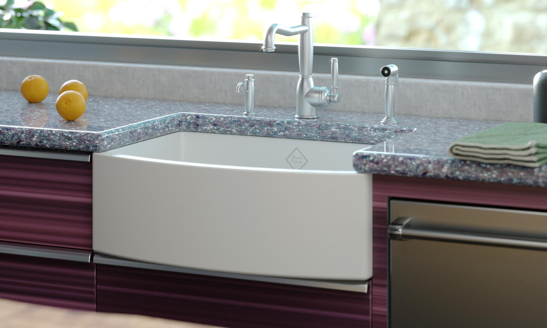 Rohl Faucet and Sink